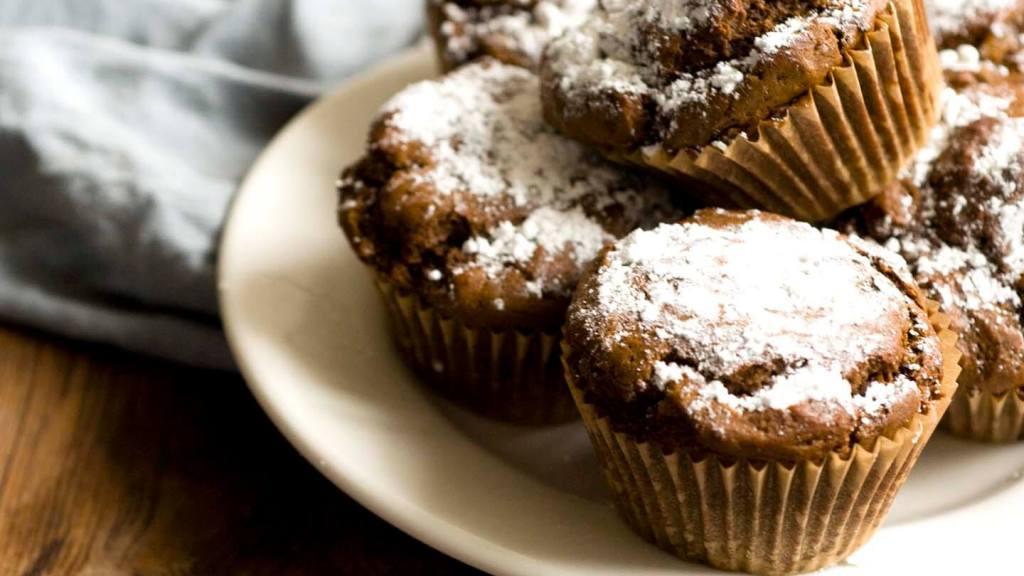 Gingerbread doughnut muffins   Homesick Texan