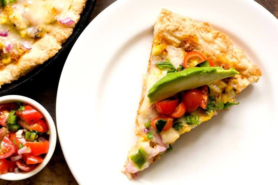 Chorizo and jalapeno breakfast pizza | Homesick Texan