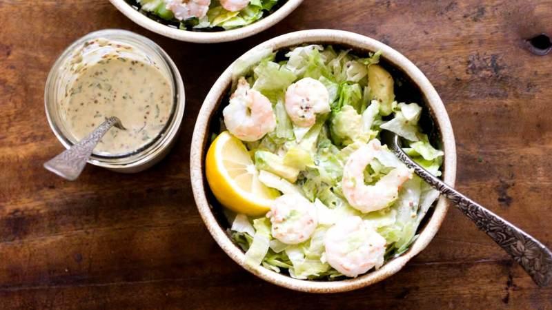 Shrimp and avocado salad with remoulade dressing | Homesick Texan