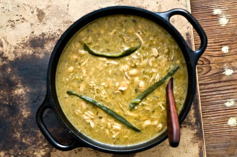 White chicken poblano chili | Homesick Texan