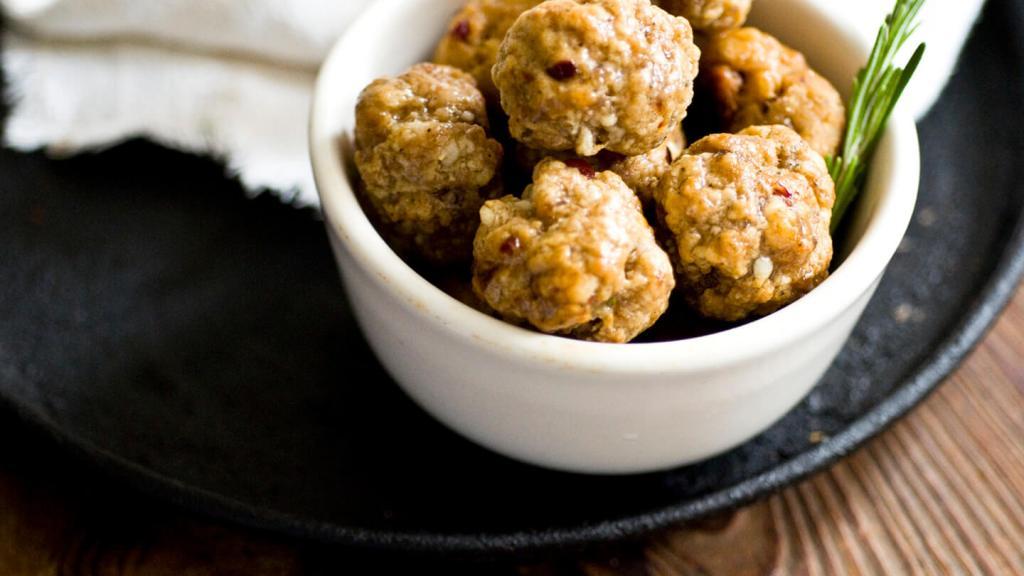 Chipotle cranberry sausage balls   Homesick Texan