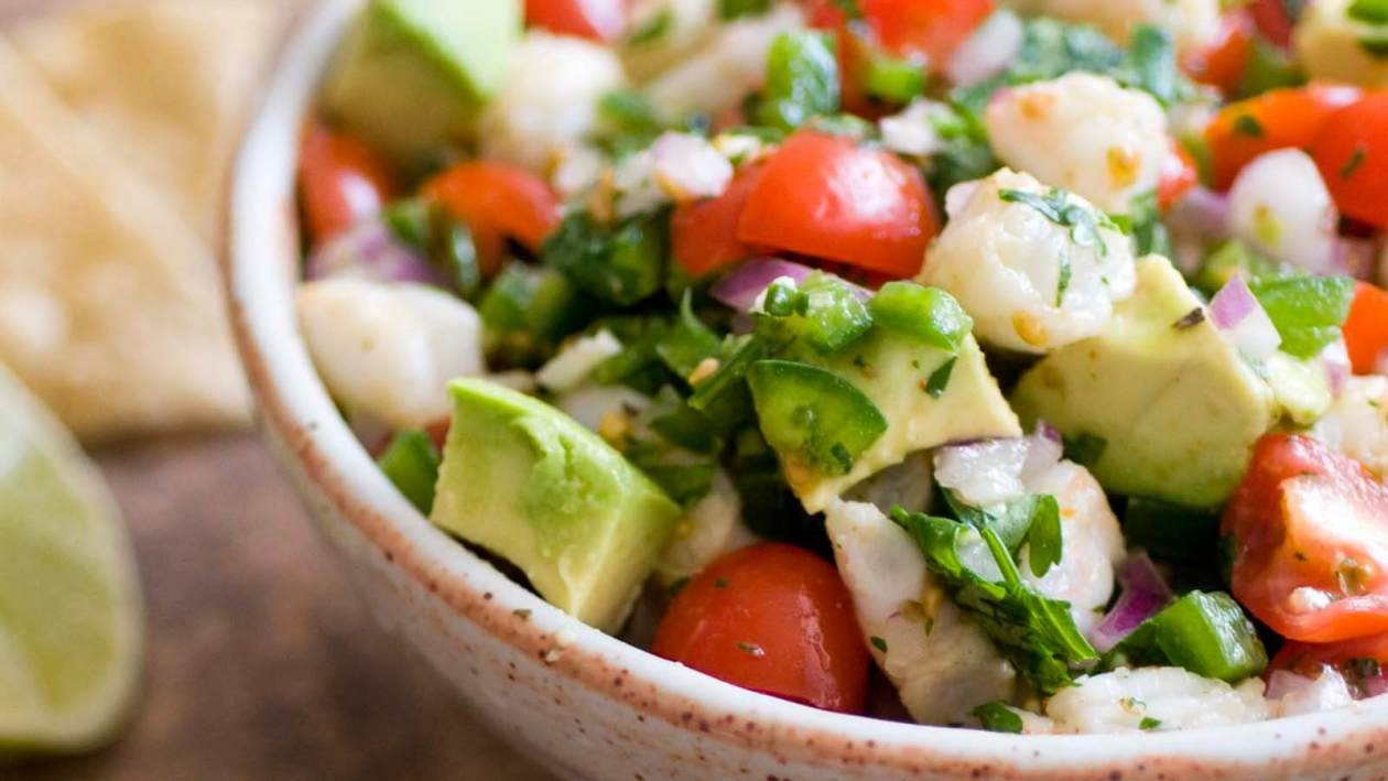 South Padre shrimp ceviche | Homesick Texan