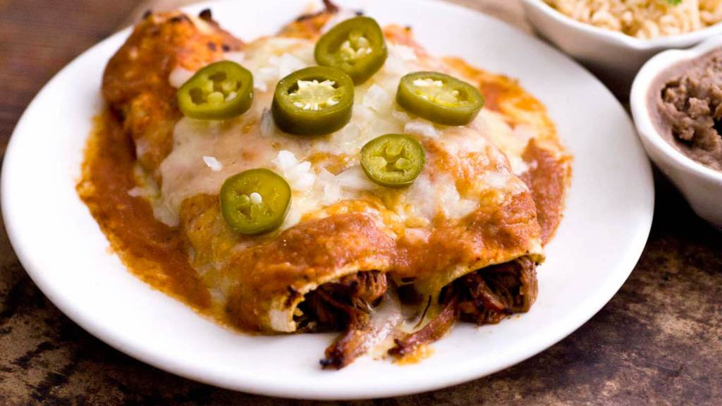 Brisket enchiladas, Dallas style | Homesick Texan