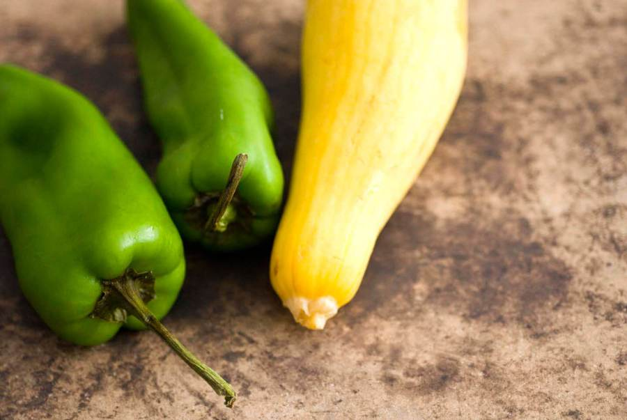Summer squash and green chiles | Homesick Texan