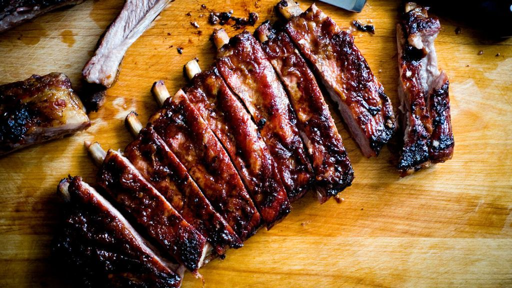 Apricot glazed ribs | Homesick Texan