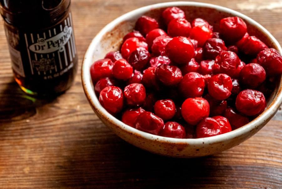 Cherry Dr Pepper cheesecake bars | Homesick Texan