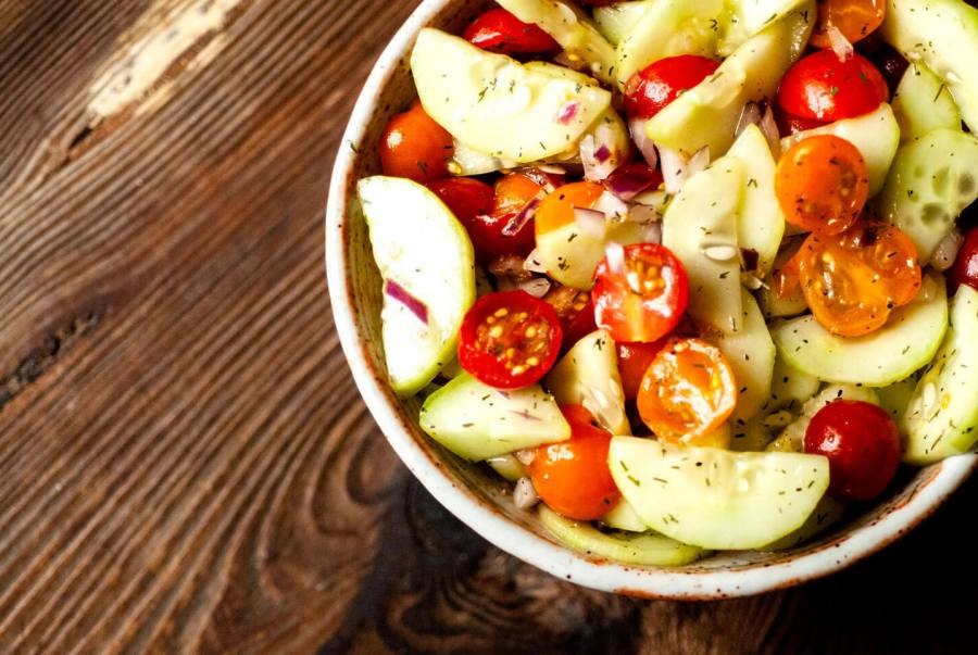 Cucumber and tomato salad | Homesick Texan