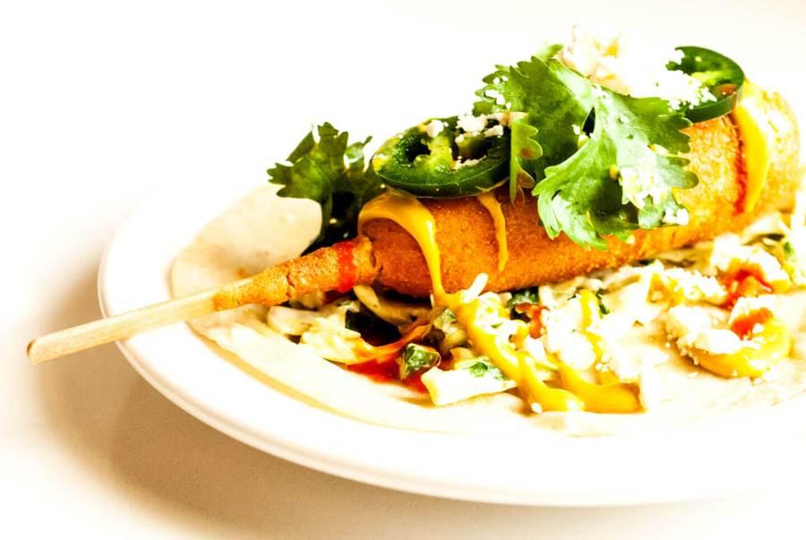 Corny dog tacos | Homesick Texan