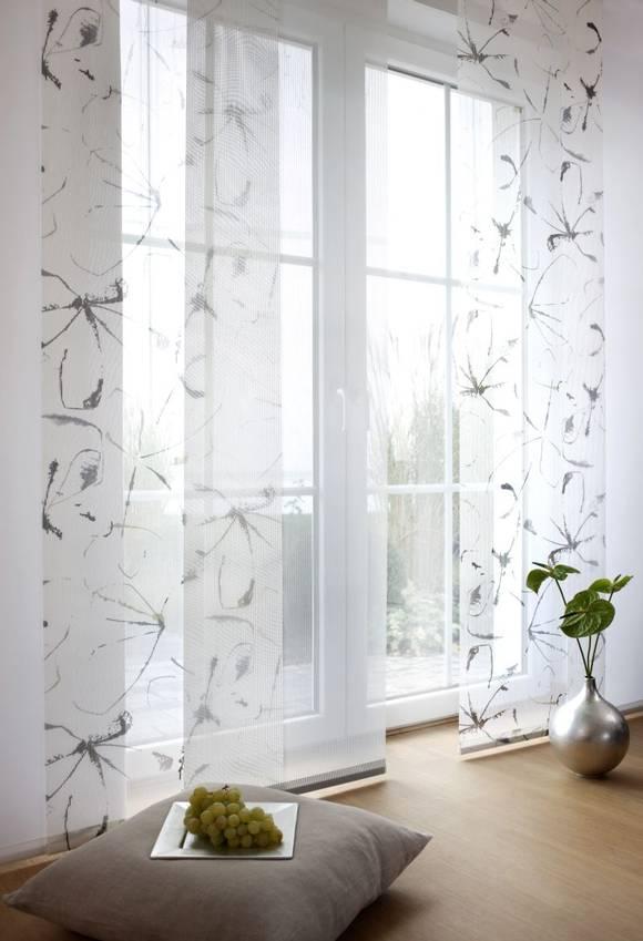 Vorhang  Fensterdeko  Flchenvorhang  Flchenvorhnge