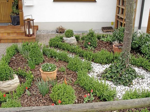 vorgarten reihenhaus ideen - boisholz, Gartenarbeit ideen