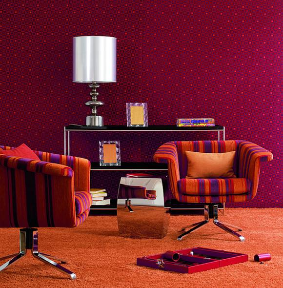 Farbe Rot im Wohnraum