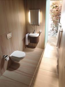 Badideen und Badplanung fr ein Gste WC Kleines Bad als Gstebad
