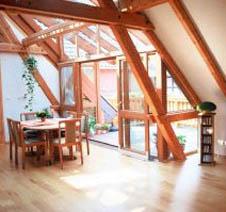 Der Dachbodenausbau ist nicht ohne Regeln