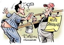 Achtung Umbau