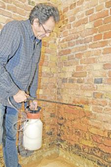 Feuchte Kellerrume selbst sanieren