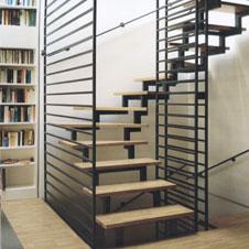 Puristisches Treppendesign