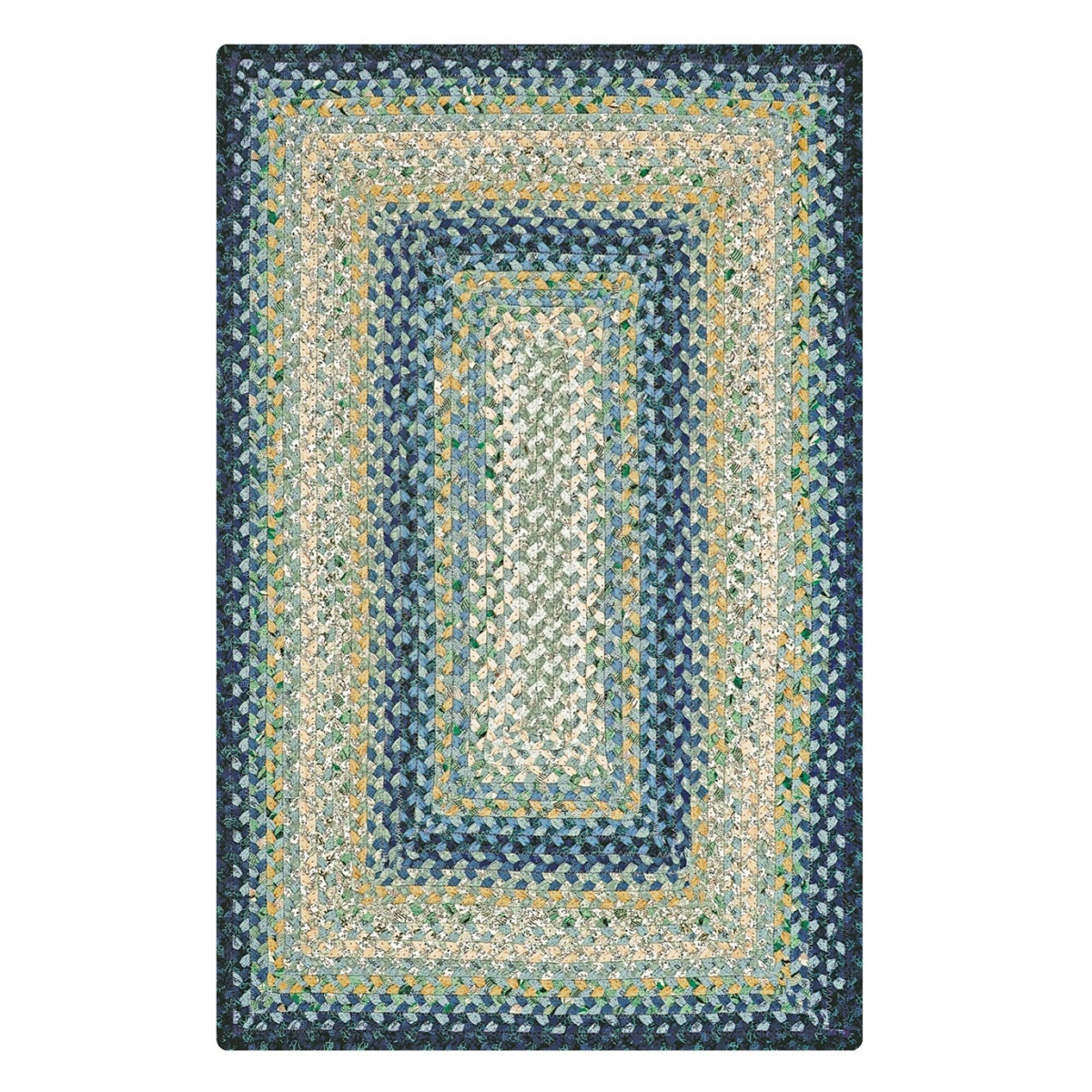 braided kitchen rugs kohler faucets buy wedgewood blue cotton online homespice