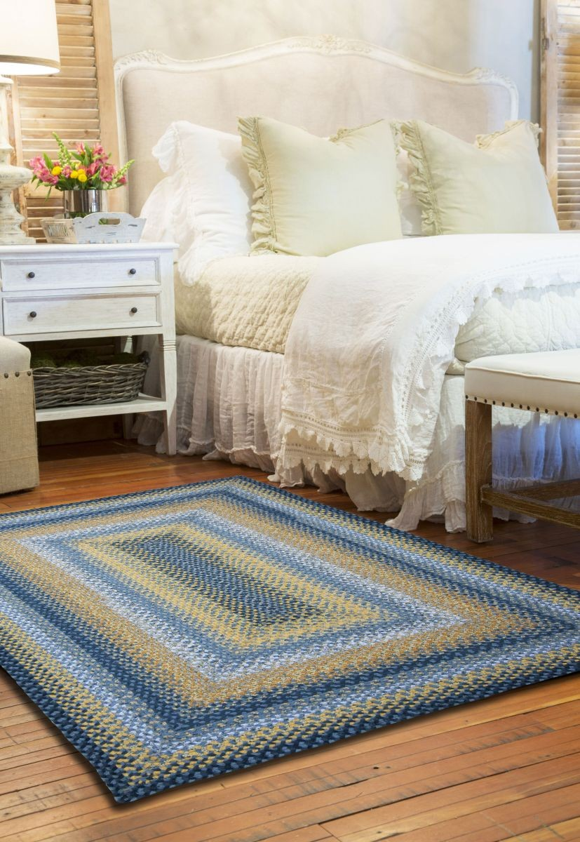 Sunflowers Cotton Braided Rugs