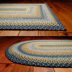 Kitchen Dining Chair Pads Mats And Rugs Sunflowers Cotton Braided