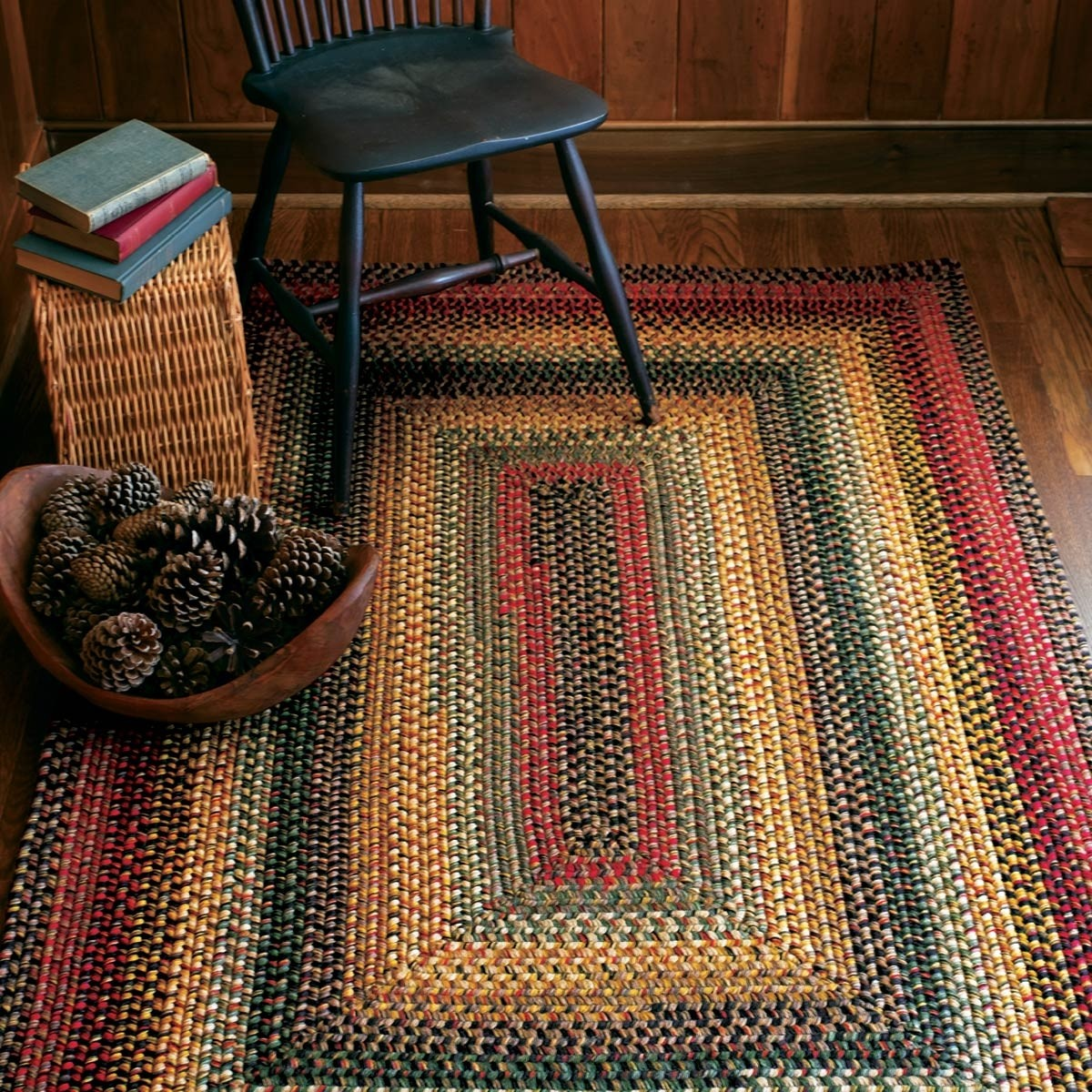 Buy Budapest Multi Color Wool Braid Rugs Online  Homespice