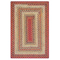 Braided Kitchen Rugs Raymour And Flanigan Sets Pumpkin Pie Cotton