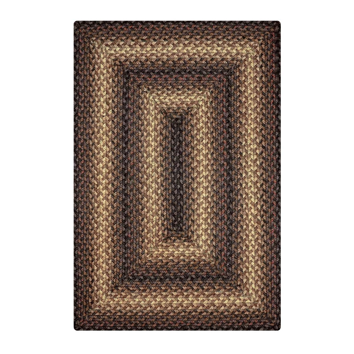 Buy Kenya Brown Jute Braided Rugs Online  Homespice