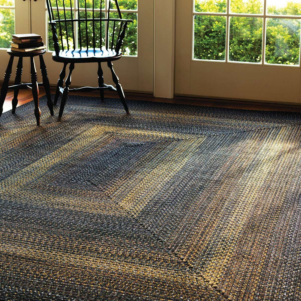 Buy Black Forest Outdoor Braided Rugs Online  Homespice