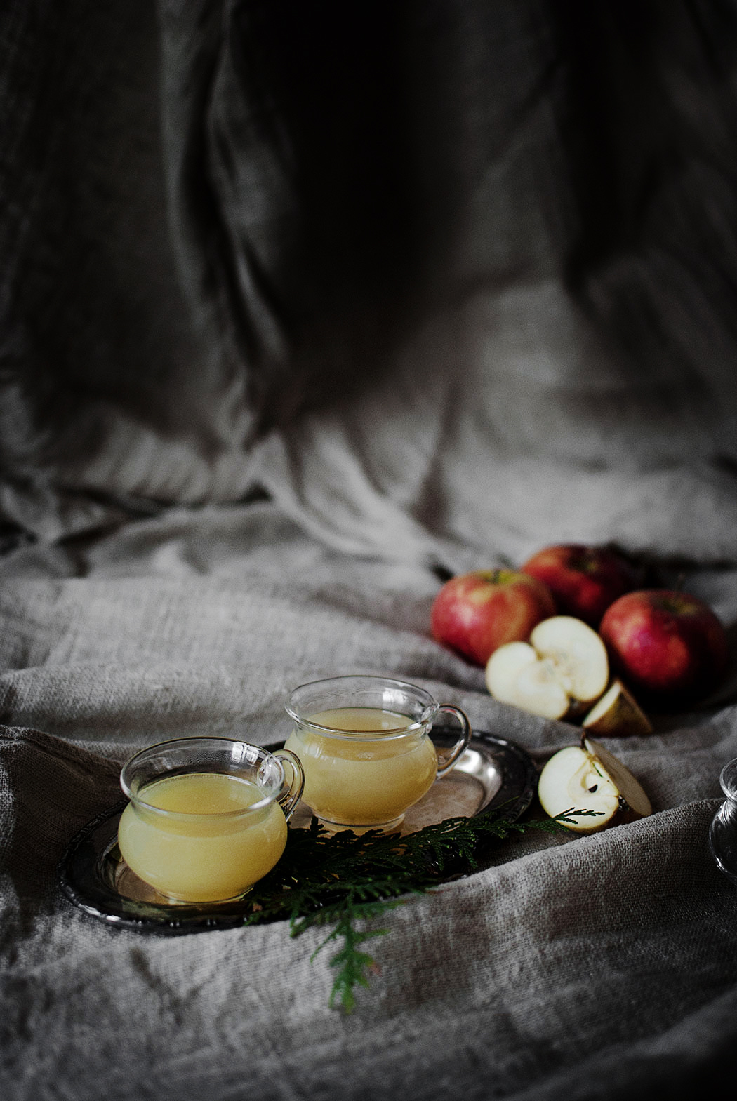 Recept: mulled apple cider (alkoholfritt)