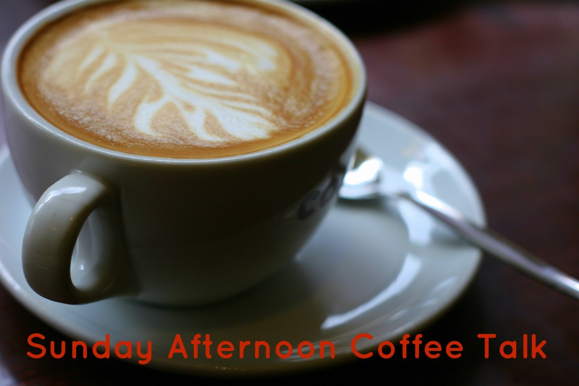 Sunday Afternoon Coffee Chat - Homespun Runner #afternoonCoffee