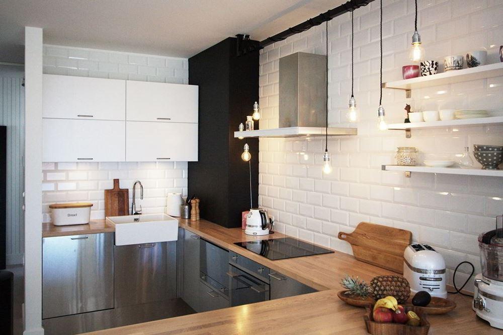 Nowoczesny styl skandynawski w salonie  HomeSquare