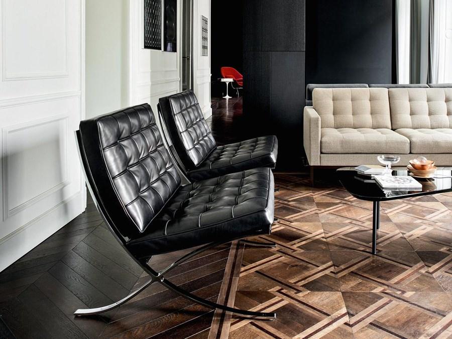 Kultowy fotel Ludwiga Mies van der Rohe  Visca el Barcelona  Architektura wntrza