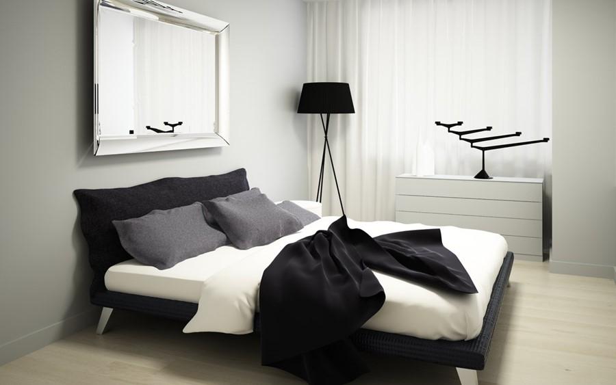 Lustro w sypialni na tak czy na nie Na dwoje babka wrya