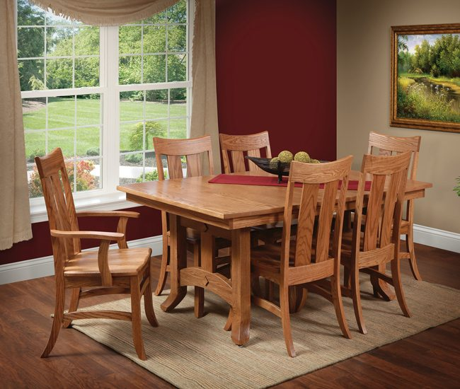 Amish Dining Room  Kitchen Tables and Chairs  HomeSquare