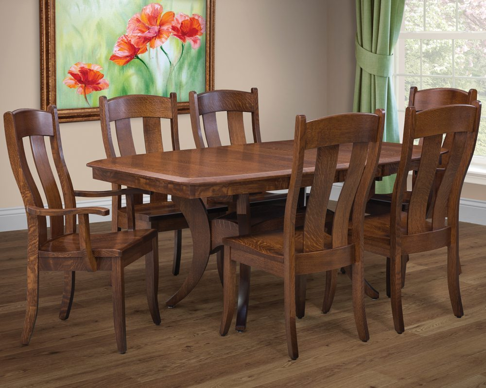 Amish Made Fort Knox Table Amp Chairs Homesquare Furniture