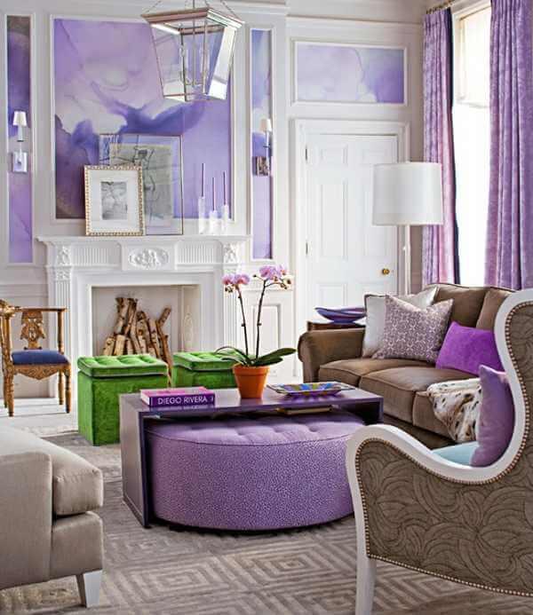 violet interior