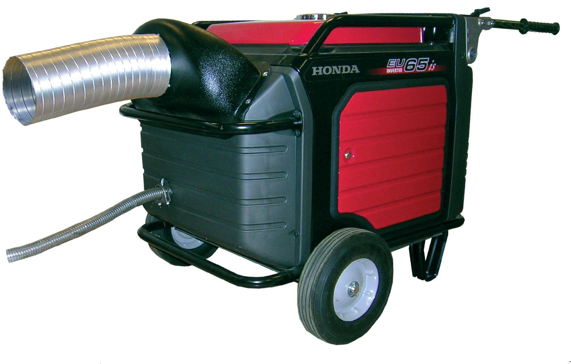 enclosure exhaust for honda generators