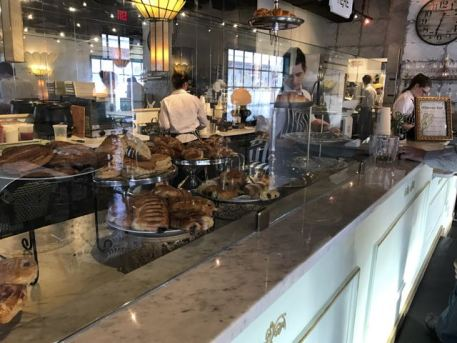 petite loulou pastry counter