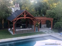 Wooden Pavilions Timber Frame Homestead