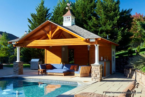 Pool House Cabana Plans - Year of Clean Water