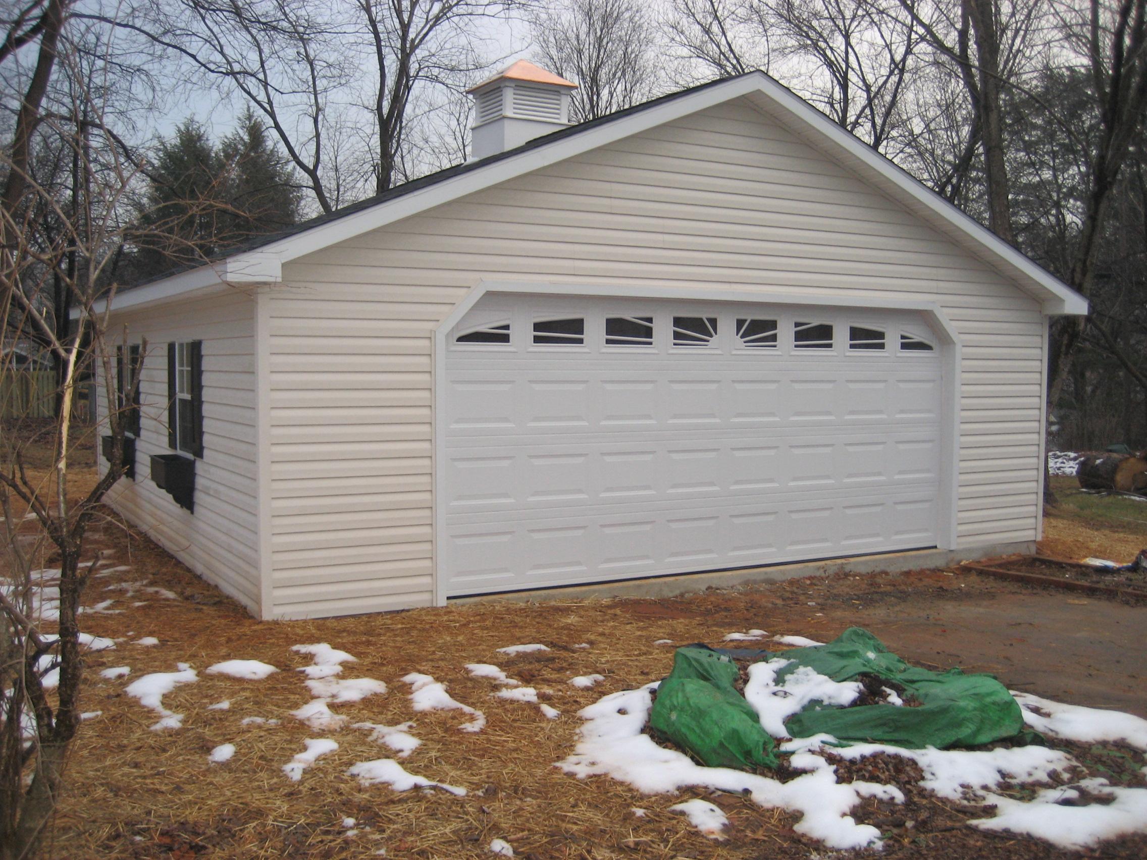 2 Car Garage  Homestead Structures
