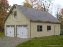 24 X 32 2 Car Garage Plans
