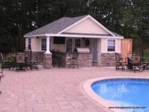 Stone Pool House