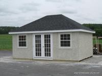 Hip Roof Sheds | Photos | Homestead Structures