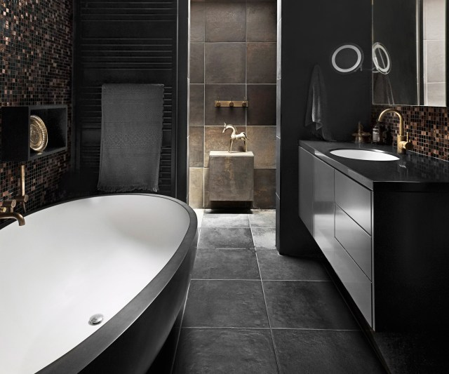 amazing Black And Grey Bathroom Ideas Home Decorating Ideas