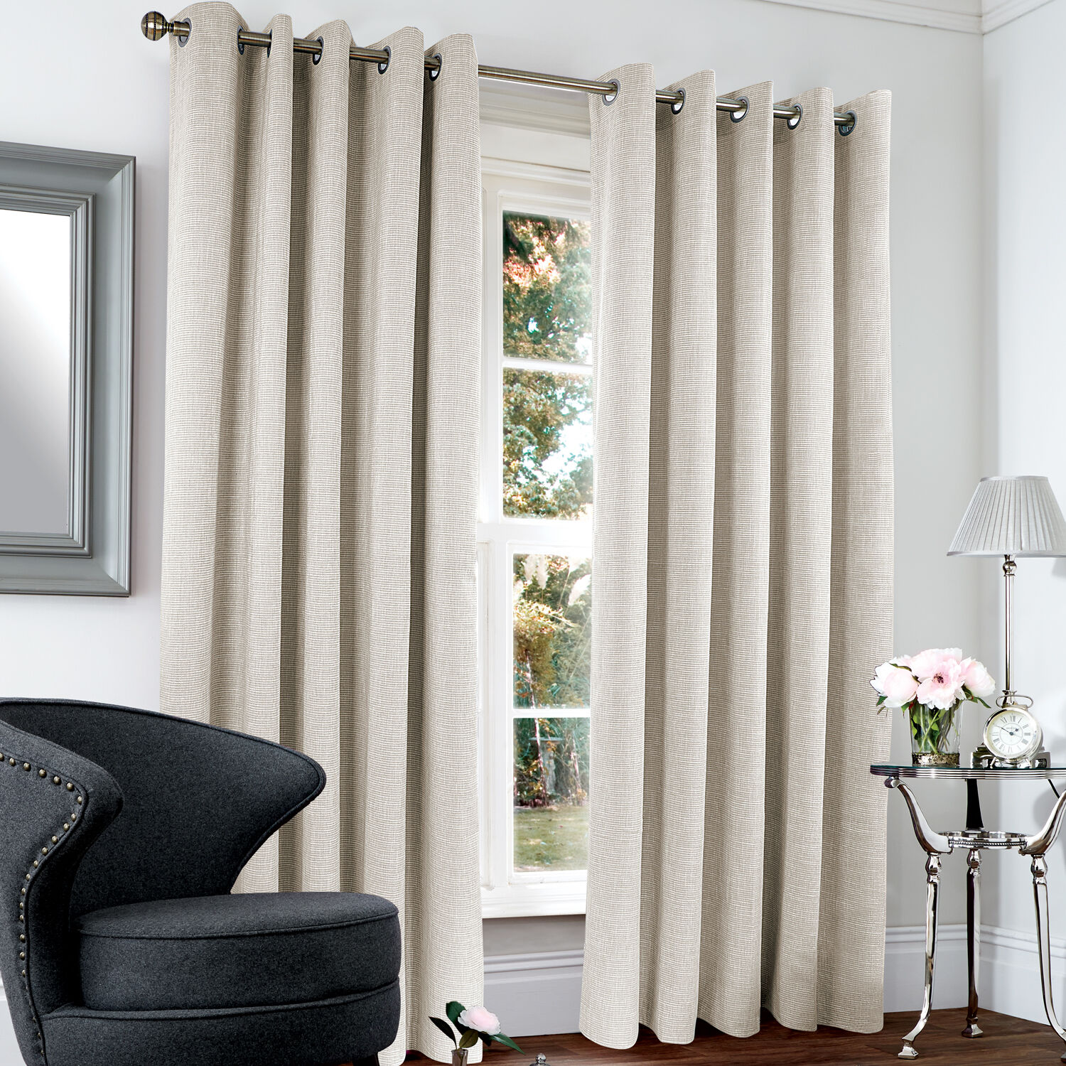 Blackout  Thermal Basketweave Curtains  Home Store  More