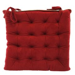 Christmas Chair Back Covers Ireland Ikea Garden Cushions Seat Pads Home Store More Naomi Red Kitchen Pad