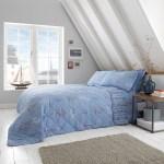 Seoil Bedspread 200x220cm Blue Home Store More
