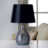 Crackle Mosaic Table Lamp - Home Store + More