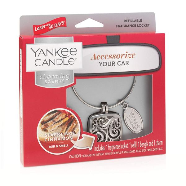 Yankee Candle Charming Scents Starter Kit, Sparkling Cinnamon