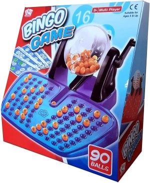 bingo lotto game set box